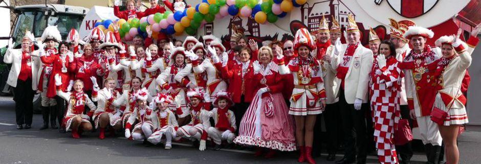 Gruppen der K. K. Funken Rot-Weiß Koblenz
