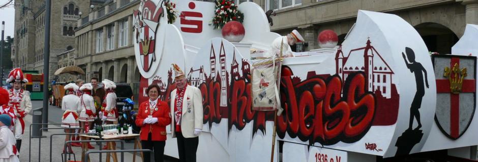 Komiteewagen der K.K.Funken Rot-Weiß Koblenz
